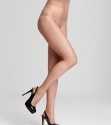 Luxurious nude hosiery that matches skin perfectly for a flawless look.