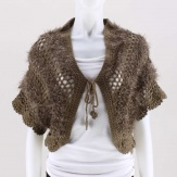 The Margaret Crochet Sweater Shrug  is a versatile & comfortable alternative to sweaters & shawls.